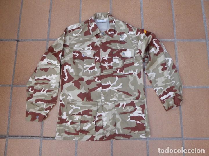 Militaria: Camisola campaña camuflaje árido Infantería de Marina. M-02 - Foto 2 - 198632461
