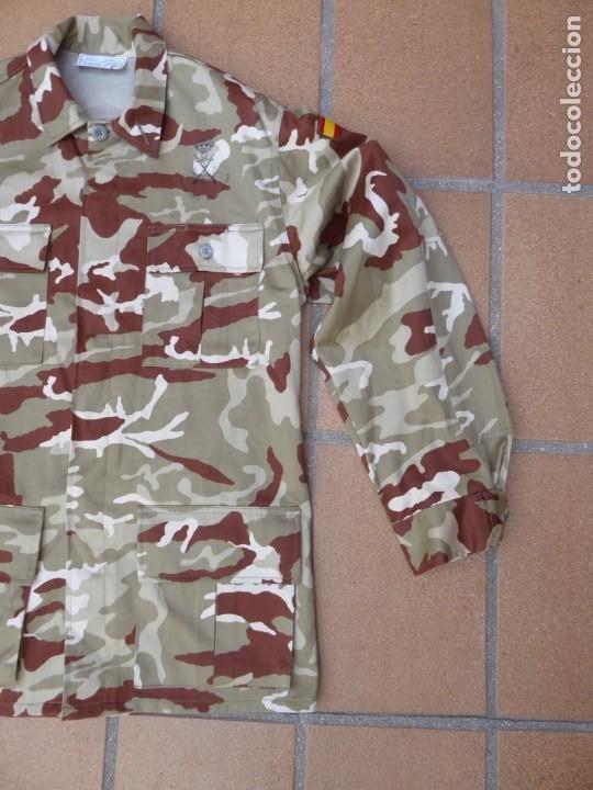 Militaria: Camisola campaña camuflaje árido Infantería de Marina. M-02 - Foto 3 - 198632461