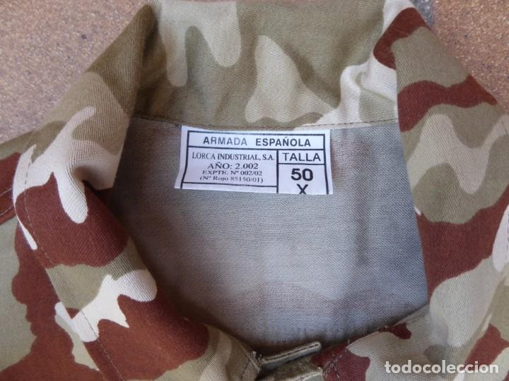 Militaria: Camisola campaña camuflaje árido Infantería de Marina. M-02 - Foto 4 - 198632461