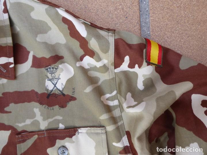 Militaria: Camisola campaña camuflaje árido Infantería de Marina. M-02 - Foto 5 - 198632461