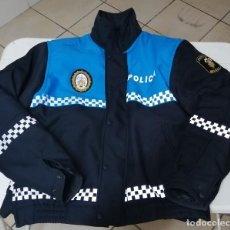 Militaria: CAZADORA CON FORRO POLICIA LOCAL MELILLA, TALLA L. Lote 199041183