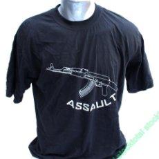 Militaria: CAMISETA M/CORTA. ASSAULT. TALLA XXL CAMISETA MANGA CORTA ASSAULT MATE 30437. Lote 221665303