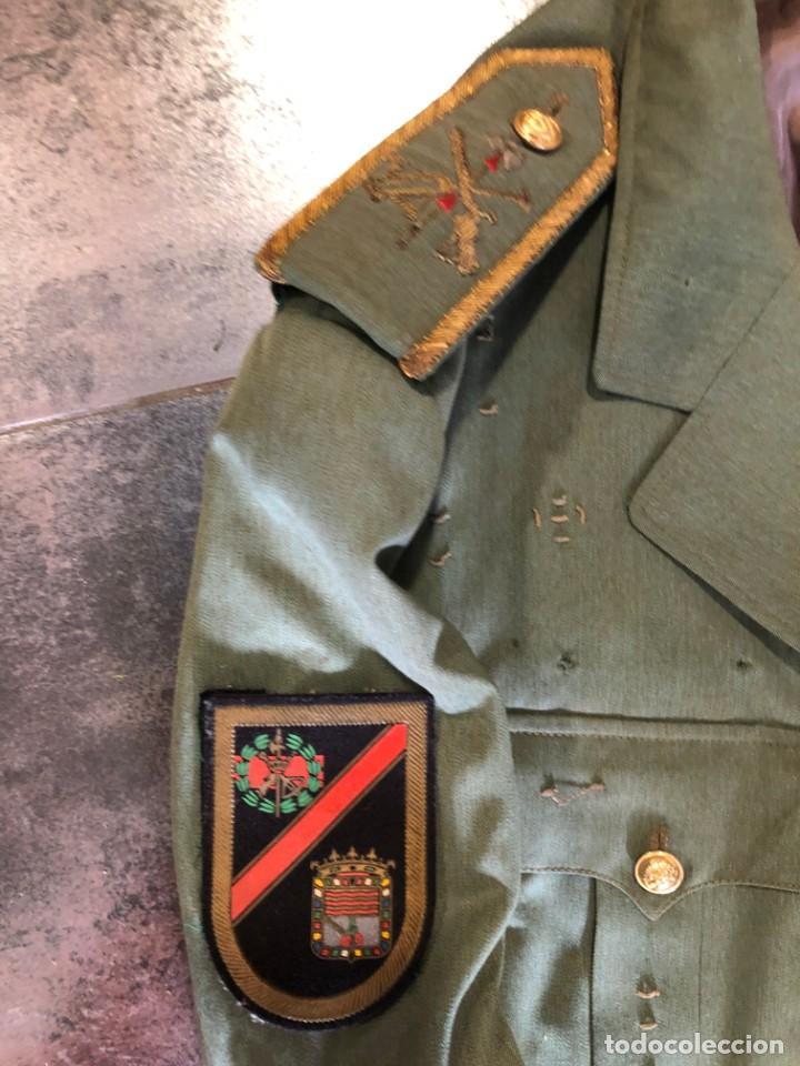 Militaria: ANTIGUA CHAQUETA GUERRERA DE COMANDANTE LEGION ESPAÑOLA - Foto 2 - 203992586