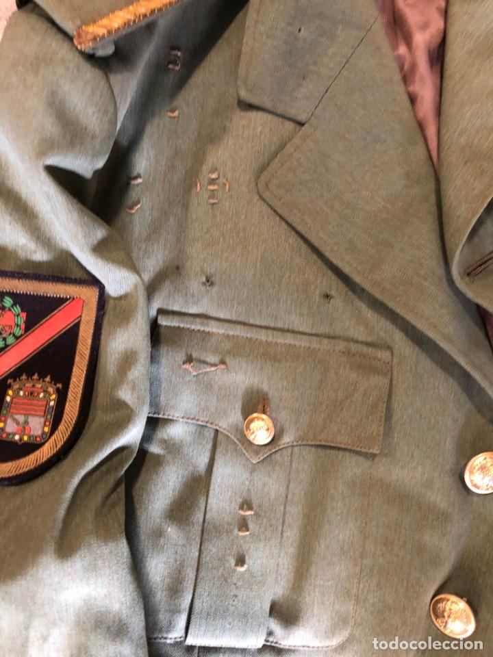 Militaria: ANTIGUA CHAQUETA GUERRERA DE COMANDANTE LEGION ESPAÑOLA - Foto 3 - 203992586