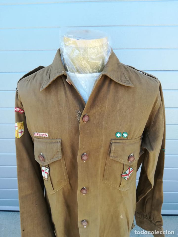 Militaria: Uniforme Escolta, Boy Scouts - Periodo Republicano - Basado en el Uniforme del Reglamento 1926 - Foto 2 - 204257770