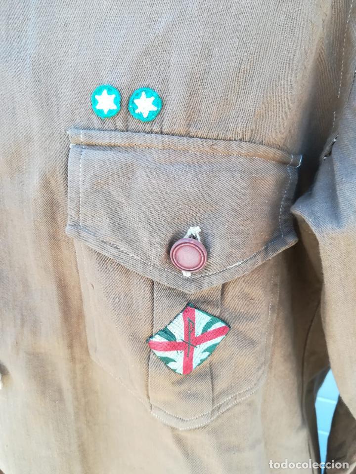 Militaria: Uniforme Escolta, Boy Scouts - Periodo Republicano - Basado en el Uniforme del Reglamento 1926 - Foto 5 - 204257770