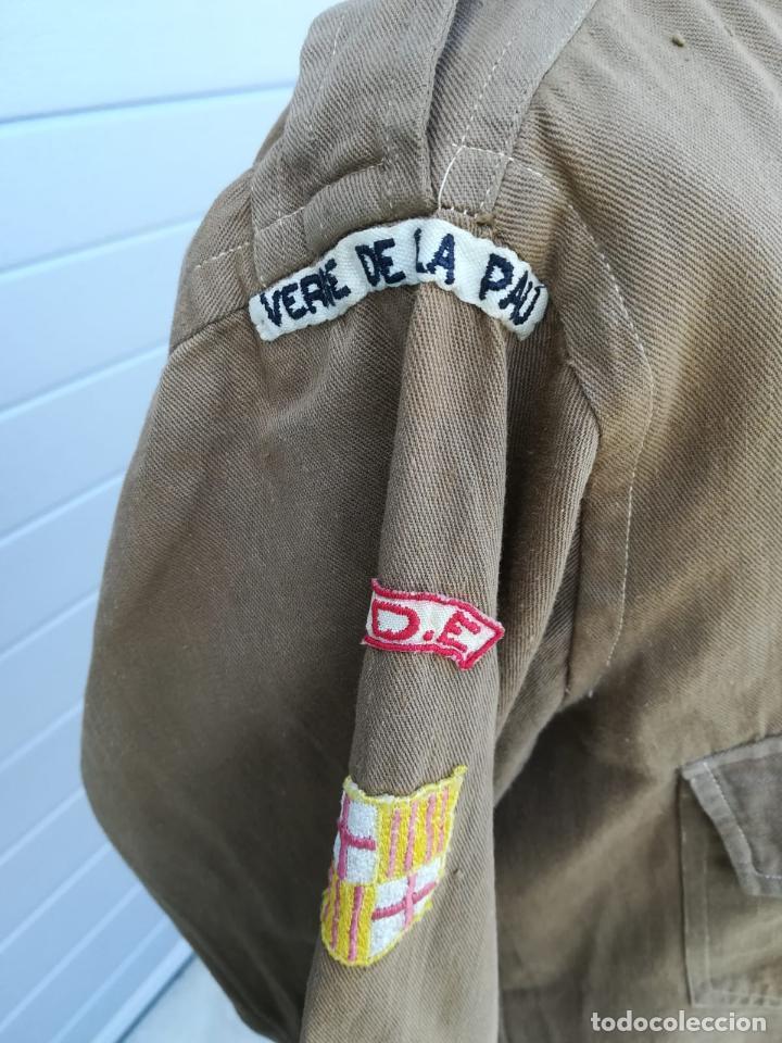 Militaria: Uniforme Escolta, Boy Scouts - Periodo Republicano - Basado en el Uniforme del Reglamento 1926 - Foto 7 - 204257770