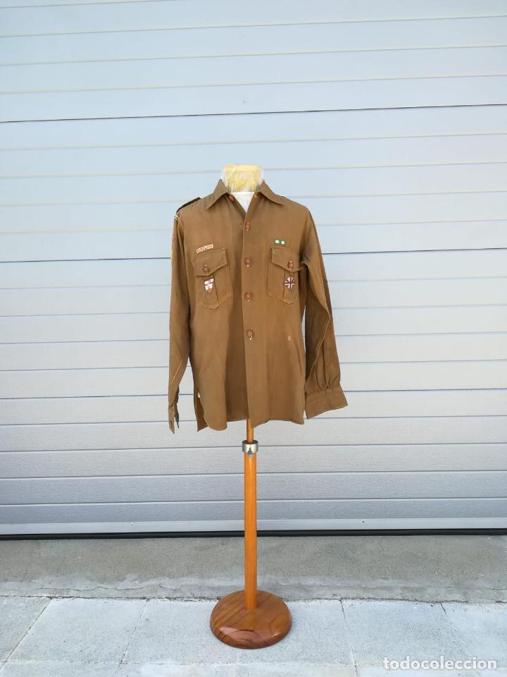 Militaria: Uniforme Escolta, Boy Scouts - Periodo Republicano - Basado en el Uniforme del Reglamento 1926 - Foto 11 - 204257770
