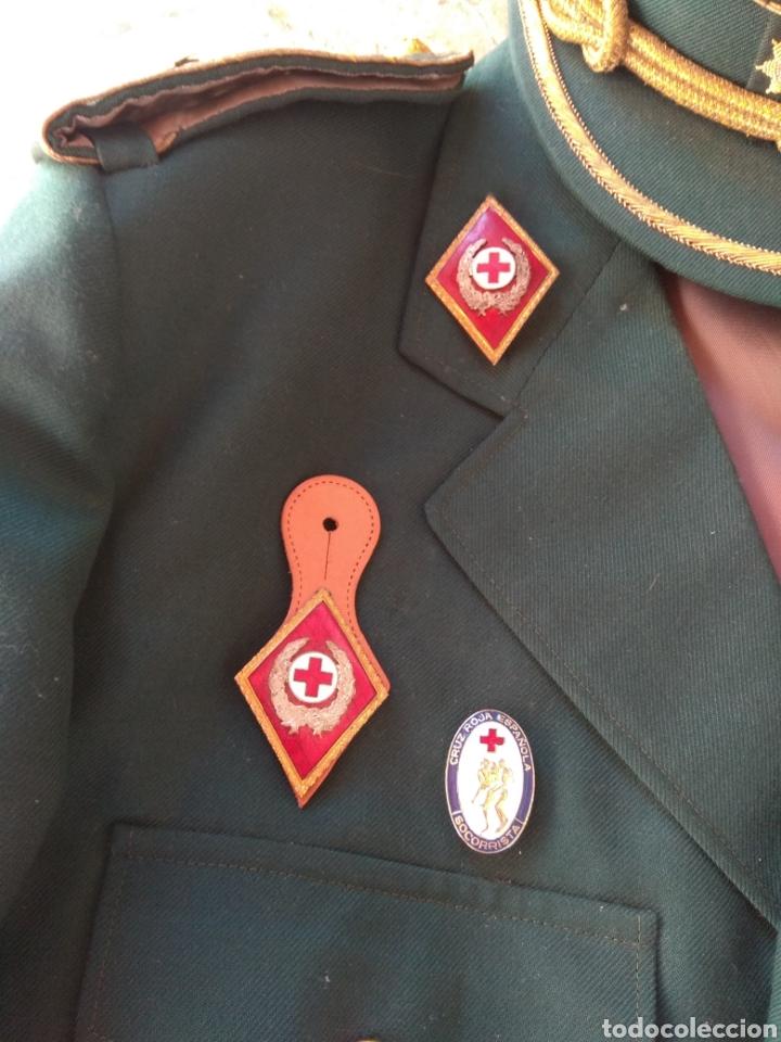 Militaria: Guerrera y Gorra Teresiana de Teniente Coronel de la Cruz Roja - - Foto 2 - 204779916