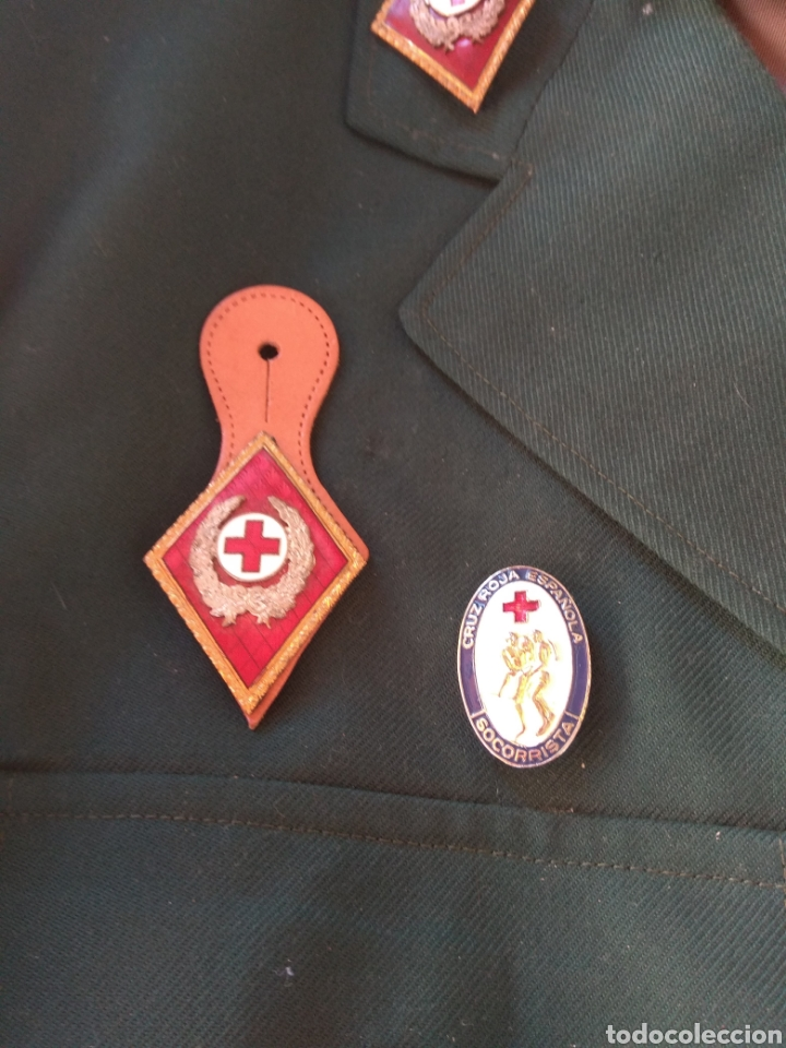 Militaria: Guerrera y Gorra Teresiana de Teniente Coronel de la Cruz Roja - - Foto 5 - 204779916
