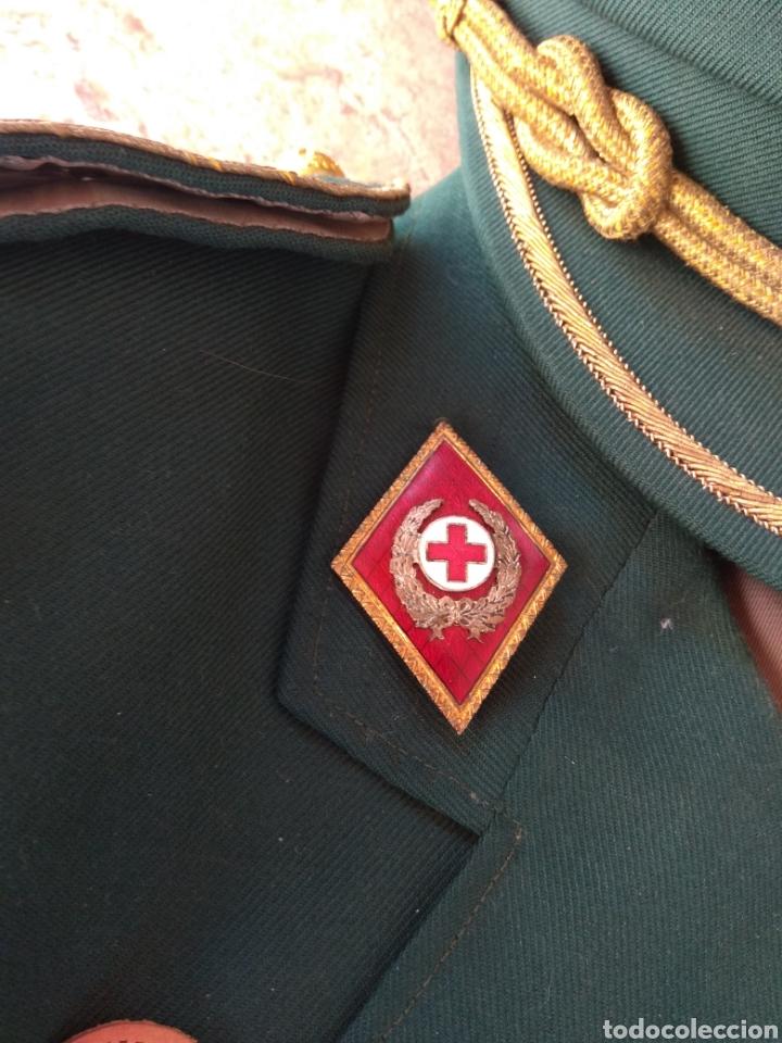 Militaria: Guerrera y Gorra Teresiana de Teniente Coronel de la Cruz Roja - - Foto 6 - 204779916
