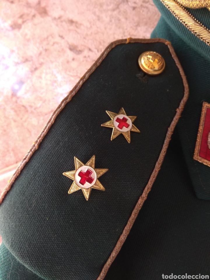 Militaria: Guerrera y Gorra Teresiana de Teniente Coronel de la Cruz Roja - - Foto 8 - 204779916