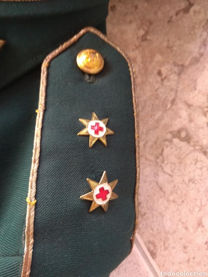 Militaria: Guerrera y Gorra Teresiana de Teniente Coronel de la Cruz Roja - - Foto 9 - 204779916