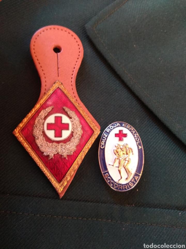 Militaria: Guerrera y Gorra Teresiana de Teniente Coronel de la Cruz Roja - - Foto 12 - 204779916
