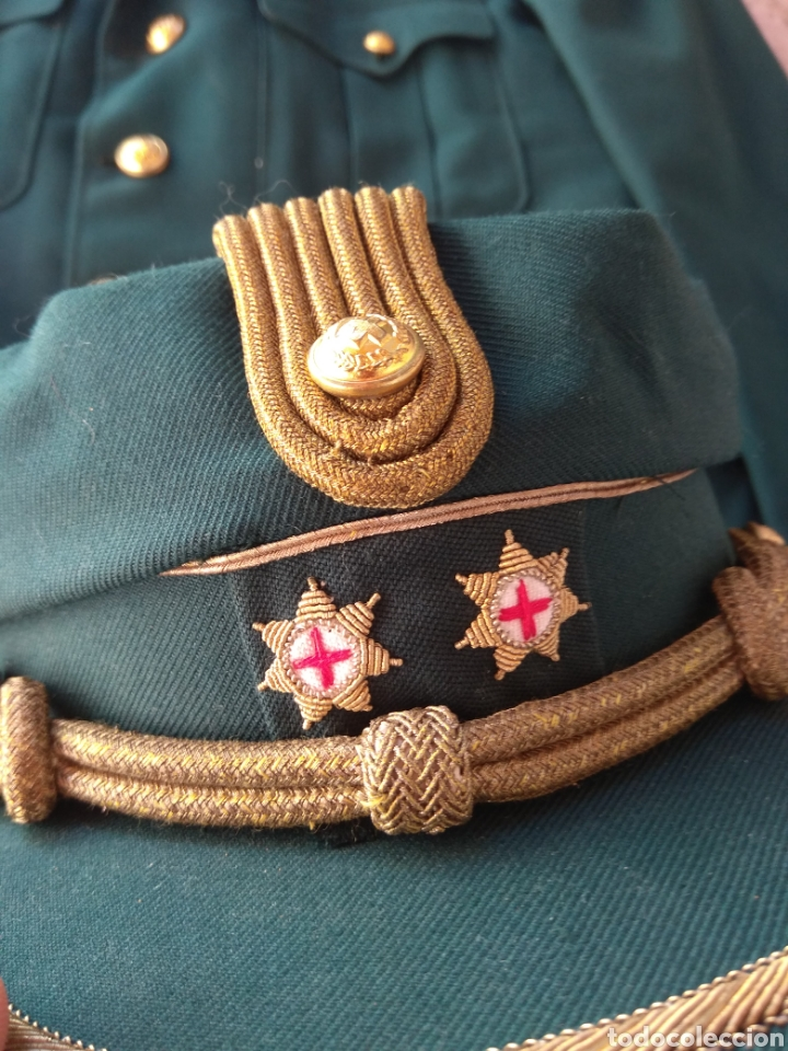 Militaria: Guerrera y Gorra Teresiana de Teniente Coronel de la Cruz Roja - - Foto 18 - 204779916