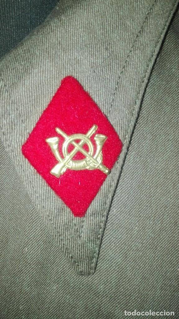 Militaria: SAHARIANA COMPLETA. REGLAMENTO 1943. ALFEREZ MILICIAS UNIVERSITARIAS. SIN USO. - Foto 2 - 205341978