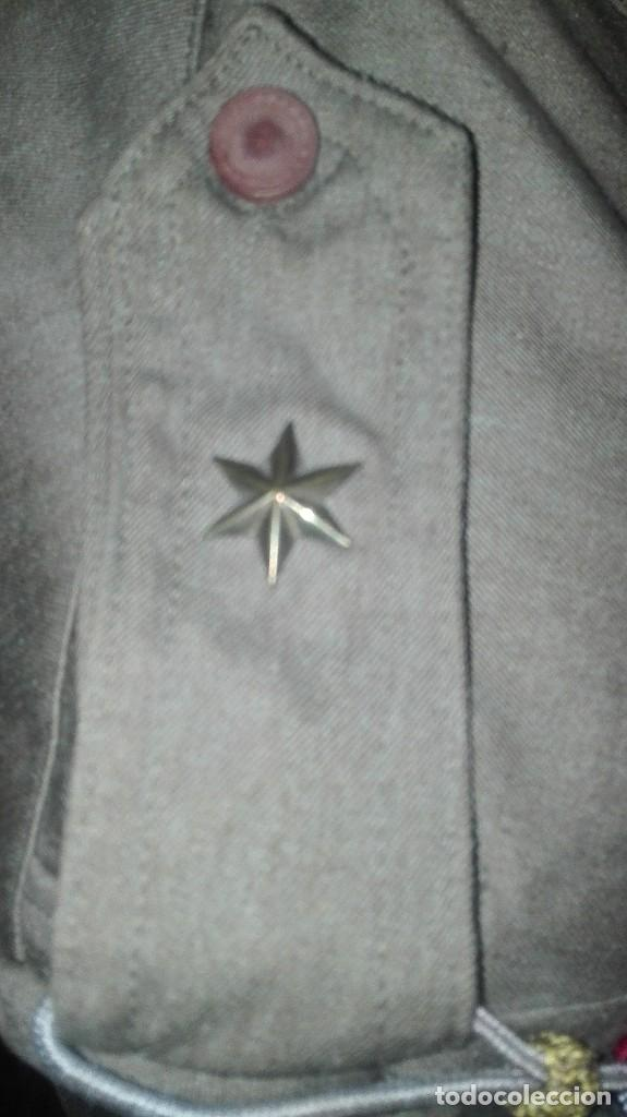 Militaria: SAHARIANA COMPLETA. REGLAMENTO 1943. ALFEREZ MILICIAS UNIVERSITARIAS. SIN USO. - Foto 5 - 205341978