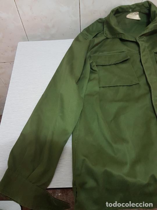 Militaria: CAMISA MANGA LARGA MILITAR DE FAENA - EJERCITO DE TIERRA A EXTRENAR - Foto 3 - 205832588