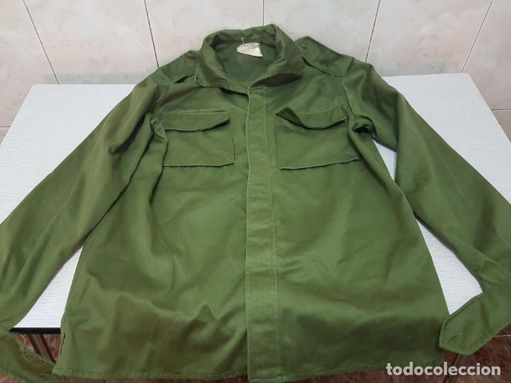 Militaria: CAMISA MANGA LARGA MILITAR DE FAENA - EJERCITO DE TIERRA A EXTRENAR - Foto 4 - 205832588