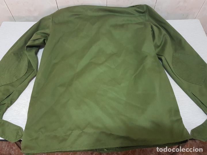 Militaria: CAMISA MANGA LARGA MILITAR DE FAENA - EJERCITO DE TIERRA A EXTRENAR - Foto 5 - 205832588
