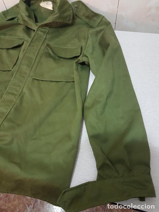 Militaria: CAMISA MANGA LARGA MILITAR DE FAENA - EJERCITO DE TIERRA A EXTRENAR - Foto 6 - 205832588