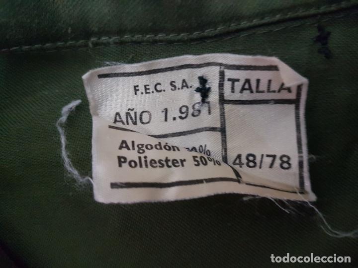 Militaria: CAMISA MANGA LARGA MILITAR DE FAENA - EJERCITO DE TIERRA A EXTRENAR - Foto 7 - 205832588