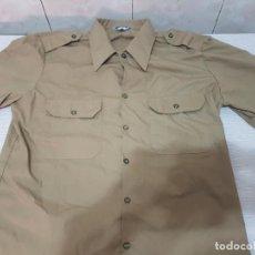 Militaria: CAMISA DE BONITO MANGA CORTA MILITAR DE FAENA - EJERCITO DE TIERRA A EXTRENAR. Lote 205833351