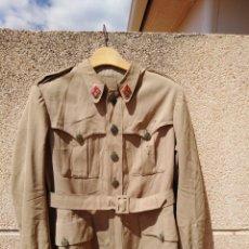 Militaria: SAHARIANA MODELO ITALIANO GUERRA CIVIL AÑOS 40 TENIENTE CORONEL. Lote 221575567