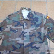 Militaria: CAMISOLA CAMPAÑA SARGENTO PRIMERO INFANTERÍA DE MARINA. M-82 FN WOODLAND. Lote 211801411