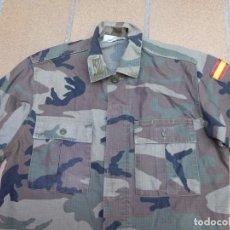 Militaria: CAMISOLA CAMPAÑA SARGENTO PRIMERO INFANTERÍA DE MARINA. WOODLAND. Lote 211803150