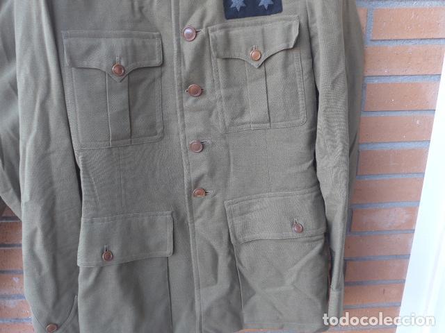 Militaria: * Antiguo uniforme de teniente provisional, con emblemas bordados ingenieros, guerra civil. ZX - Foto 3 - 211829950