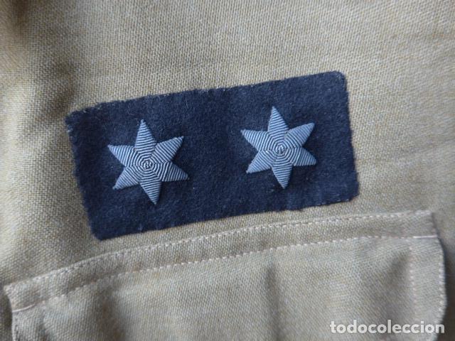 Militaria: * Antiguo uniforme de teniente provisional, con emblemas bordados ingenieros, guerra civil. ZX - Foto 6 - 211829950