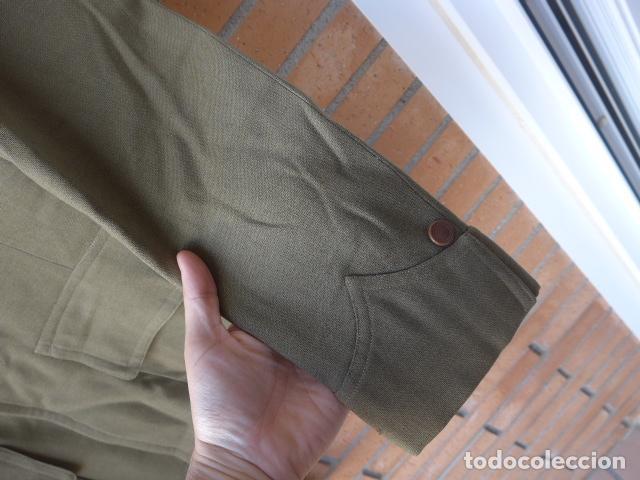 Militaria: * Antiguo uniforme de teniente provisional, con emblemas bordados ingenieros, guerra civil. ZX - Foto 7 - 211829950