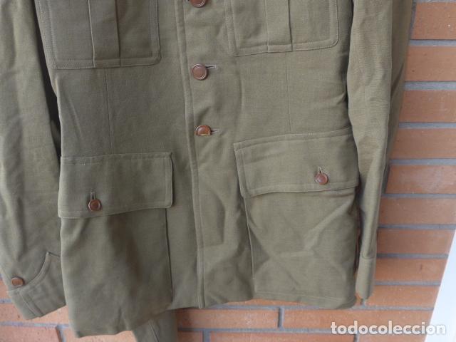 Militaria: * Antiguo uniforme de teniente provisional, con emblemas bordados ingenieros, guerra civil. ZX - Foto 8 - 211829950