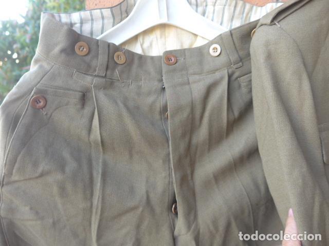 Militaria: * Antiguo uniforme de teniente provisional, con emblemas bordados ingenieros, guerra civil. ZX - Foto 13 - 211829950