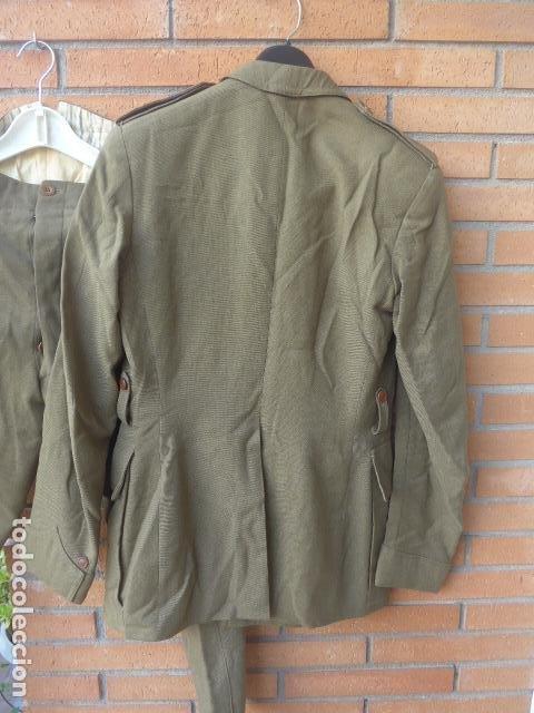 Militaria: * Antiguo uniforme de teniente provisional, con emblemas bordados ingenieros, guerra civil. ZX - Foto 14 - 211829950
