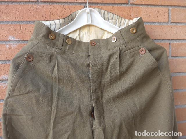 Militaria: * Antiguo uniforme de teniente provisional, con emblemas bordados ingenieros, guerra civil. ZX - Foto 15 - 211829950