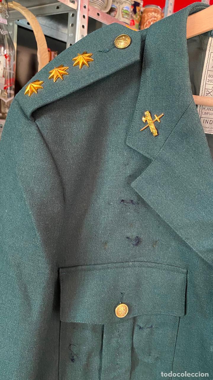 Militaria: UNIFORME chaqueta guerra + pantalon de CORONEL GUARDIA CIVIL - Foto 2 - 212507303