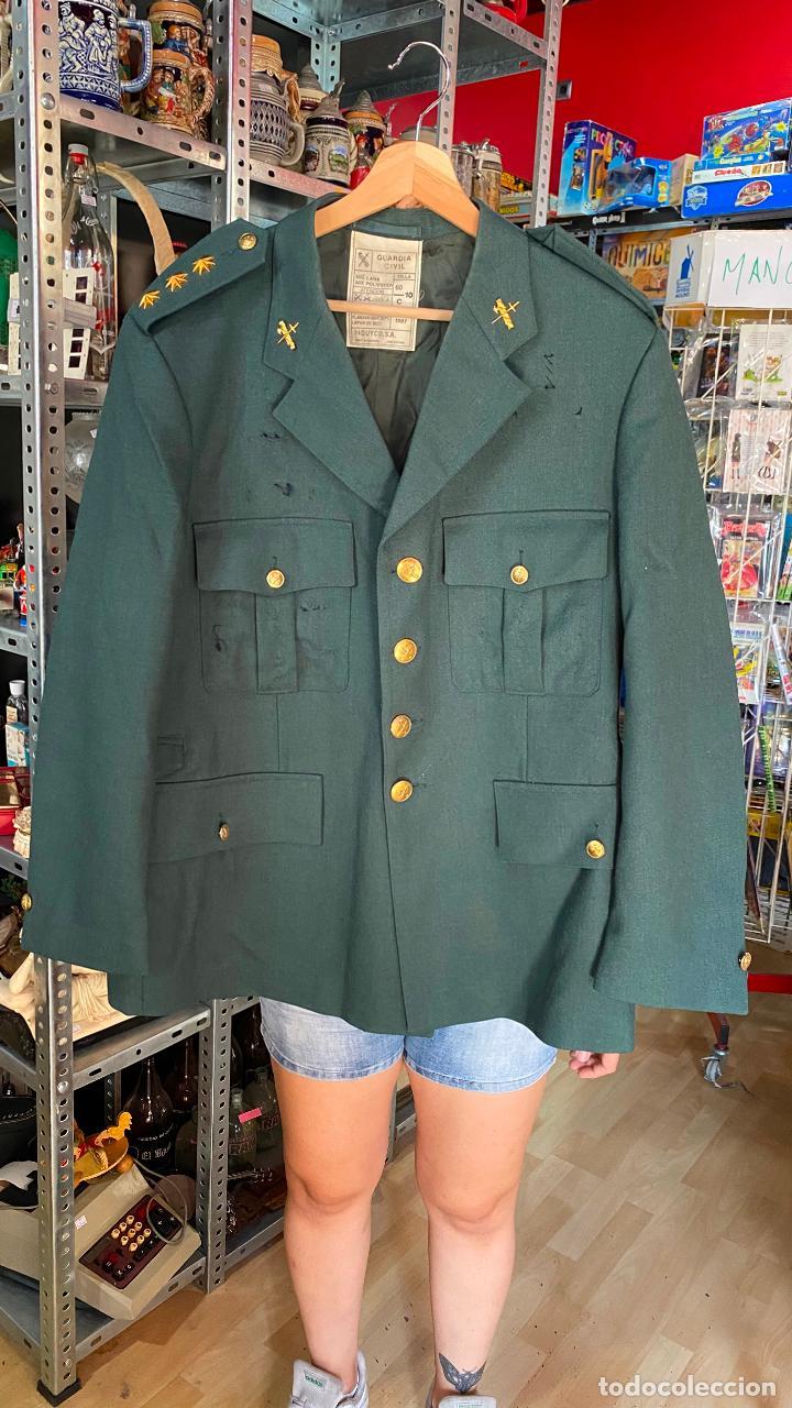 Militaria: UNIFORME chaqueta guerra + pantalon de CORONEL GUARDIA CIVIL - Foto 3 - 212507303