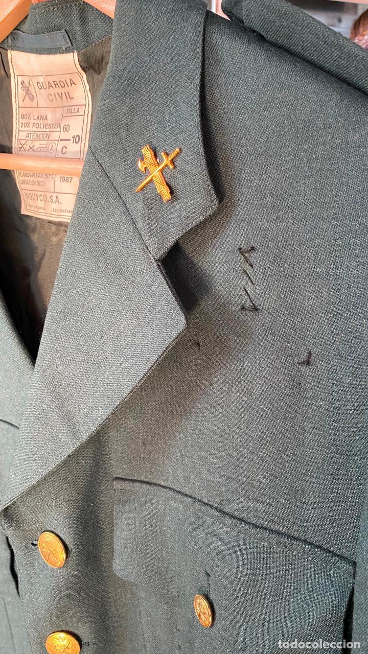 Militaria: UNIFORME chaqueta guerra + pantalon de CORONEL GUARDIA CIVIL - Foto 4 - 212507303