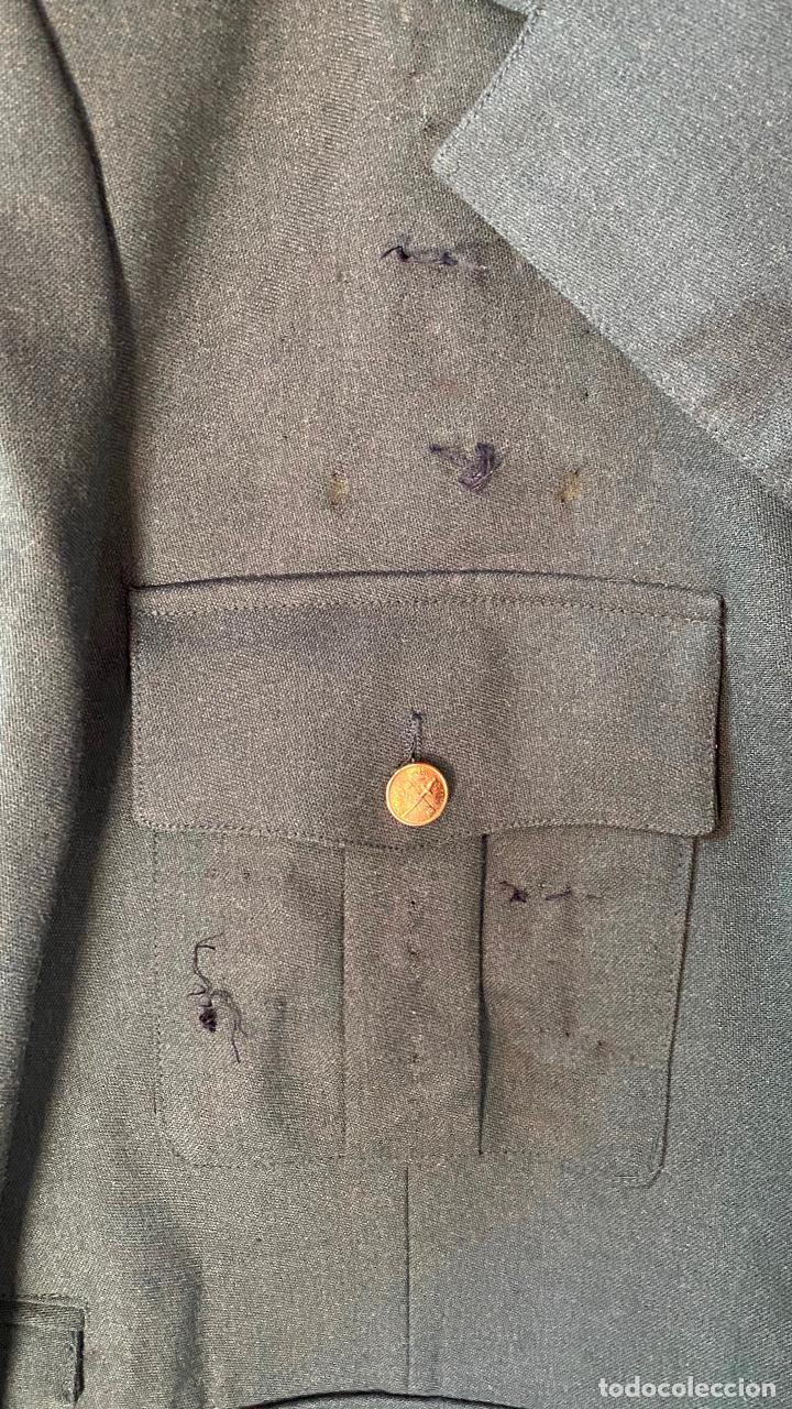 Militaria: UNIFORME chaqueta guerra + pantalon de CORONEL GUARDIA CIVIL - Foto 5 - 212507303