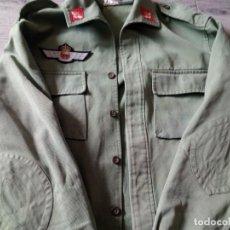 Militaria: GUERRERA EZAPAC.SARGA.1979-TALLA 50-78.....(EL ROKISKI,SUELTO). Lote 212592432