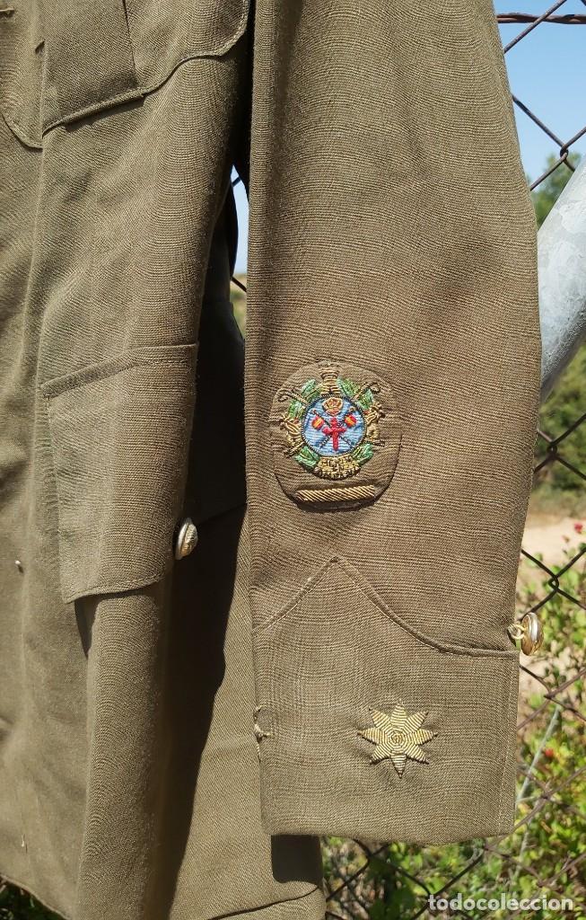 Militaria: Uniforme / guerrera de comandante de caballería con colectiva y pantalón - Foto 2 - 213013021