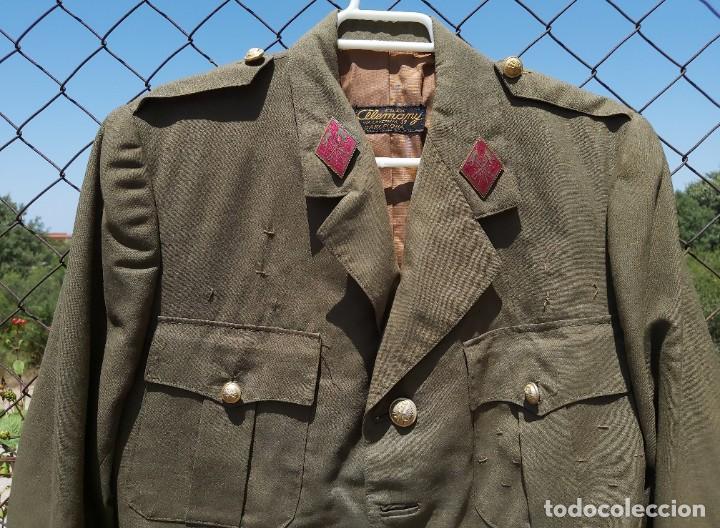 Militaria: Uniforme / guerrera de comandante de caballería con colectiva y pantalón - Foto 4 - 213013021