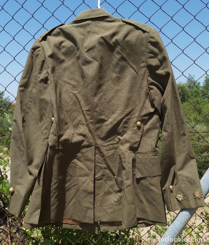 Militaria: Uniforme / guerrera de comandante de caballería con colectiva y pantalón - Foto 5 - 213013021
