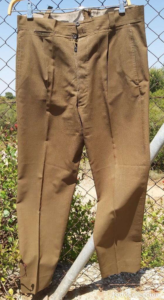 Militaria: Uniforme / guerrera de comandante de caballería con colectiva y pantalón - Foto 6 - 213013021