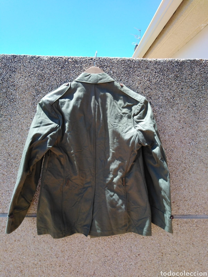 Militaria: GUERRERA DE CONDUCTOR MODELO 26 ÉPOCA II REPÚBLICA DE BRIGADA - Foto 4 - 213062082