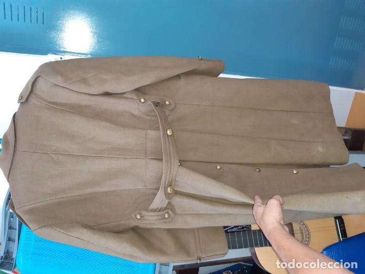 Militaria: Abrigo militar antiguo español - Foto 5 - 213509453