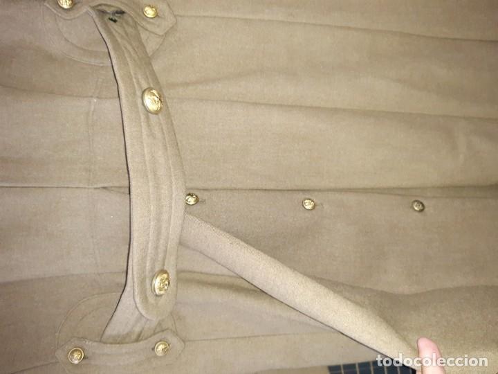Militaria: Abrigo militar antiguo español - Foto 6 - 213509453