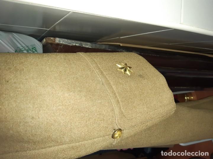 Militaria: Abrigo militar antiguo español - Foto 7 - 213509453